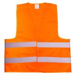 Жилет светоотражающий оранжевый REIS KOS 5 P