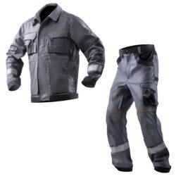 Костюм рабочий хлопковый AURUM JT серый