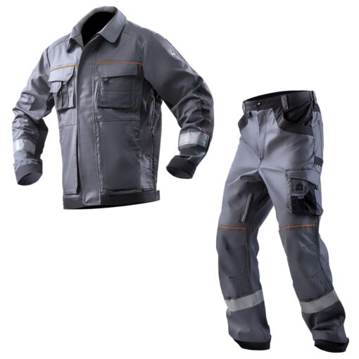 Костюм робочий бавовняний AURUM-JT Grey