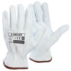 Перчатки рабочие кожаные PROCERA X-DRIVER EN 388