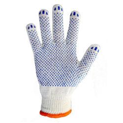 Перчатки трикотажные в ПВХ точку 8310