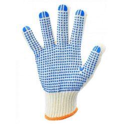 Перчатки трикотажные c ПВХ точкой