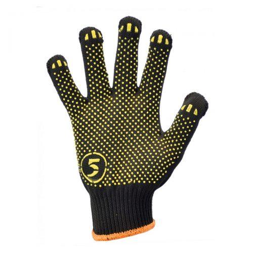 Перчатки трикотажные в ПВХ точку Корона 5511