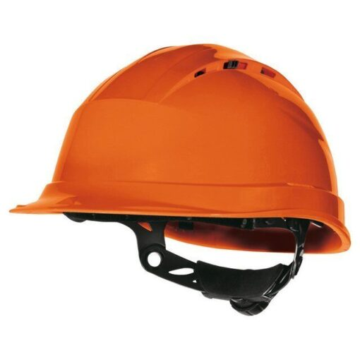 Каска будівельна DELTA PLUS QUARTZ UP IV OR з вентиляцією