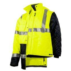 Куртка светоотражающая зимняя 5 в 1 SIZAM NORWICH