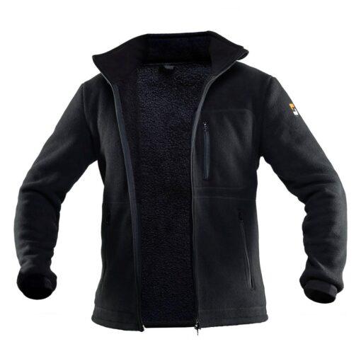 Куртка флисовая STEELUZ J Black