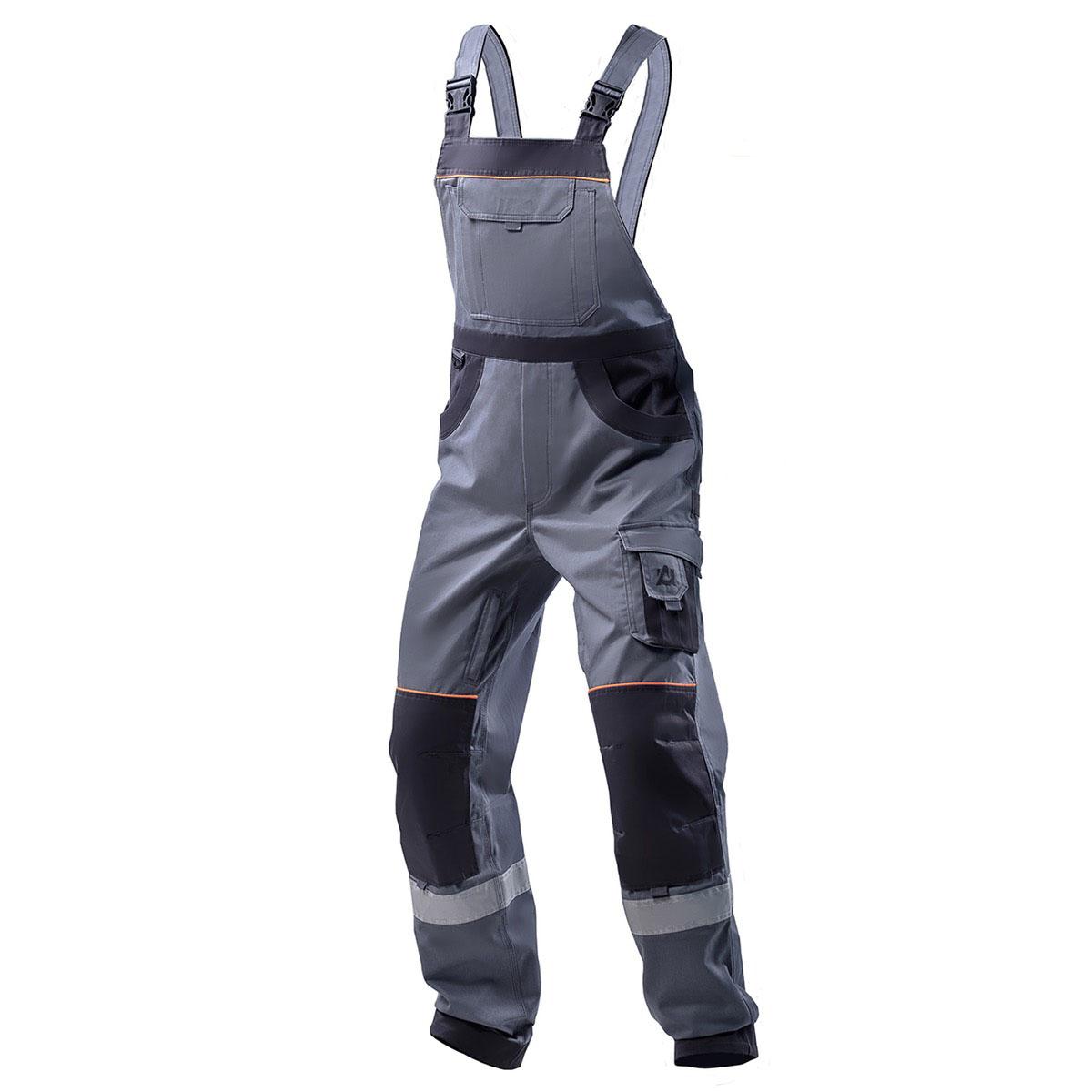 Полукомбинезон рабочий хлопковый AURUM B Grey