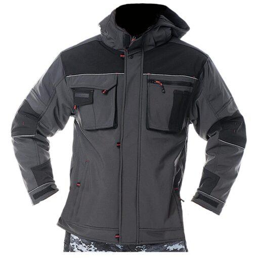 Куртка робоча Softshell утеплена LEBER & HOLLMAN LH-STORM SB