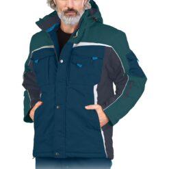 Куртка рабочая зимняя LEBER&HOLLMAN LH-NAW-J GN