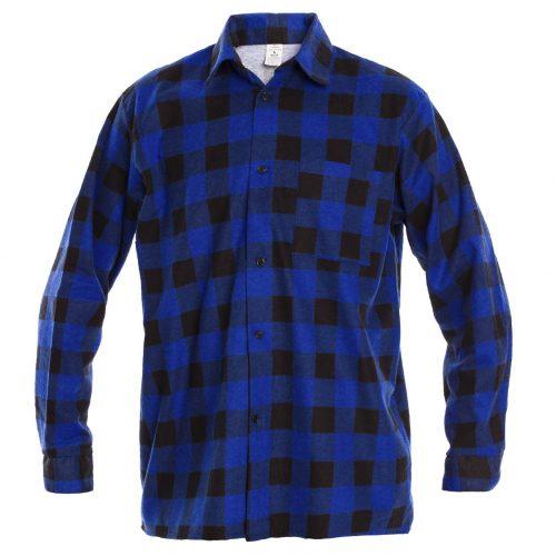 Рубашка в клетку PROCERA SHIRT синяя
