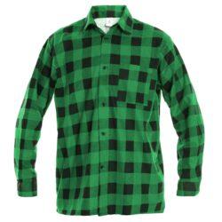Рубашка в клетку PROCERA SHIRT зеленая
