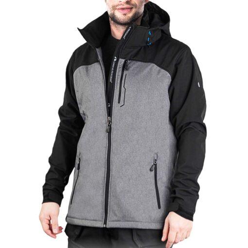Куртка робоча Softshell утеплена LEBER & HOLLMAN LH-MENFUN SB
