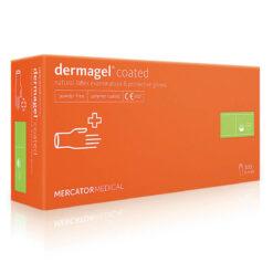 Рукавиці латексні MERCATOR Medical Dermagel Coated (упаковка 50 пар)
