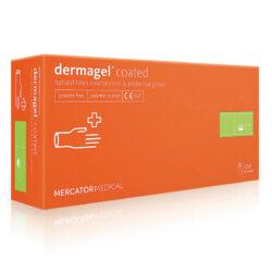 Перчатки латексные MERCATOR Medical Dermagel Coated (упаковка 50 пар)