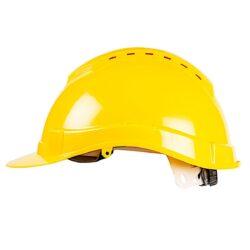 Каска строительная с вентиляцией SIZAM SAFE-GUARD 2130