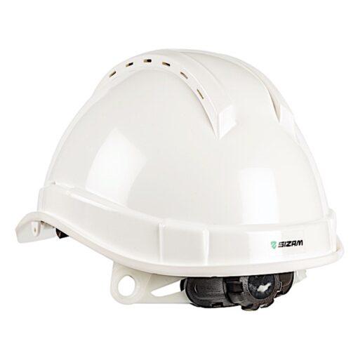 Каска строительная с вентиляцией SIZAM SAFE-GUARD 2110