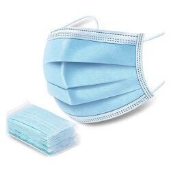 Маска медична тришарова FACE MASK WHITE (упаковка 50 штук)