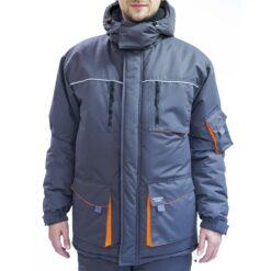 Куртка рабочая зимняя FREE WORK DEXTER-J GRAY MEMBRANE