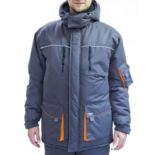Куртка робоча зимова FREE WORK DEXTER-J GRAY MEMBRANE