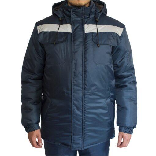 Куртка робоча зимова FREE WORK EXPERT-J BLUE