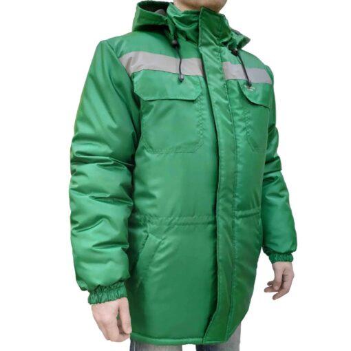 Куртка робоча зимова FREE WORK EXPERT-J GREEN