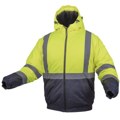 Куртка сигнальна зимова HOGERT HT5K244