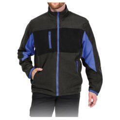 Куртка флисовая LEBER&HOLLMAN LH-FMN-P DSBN