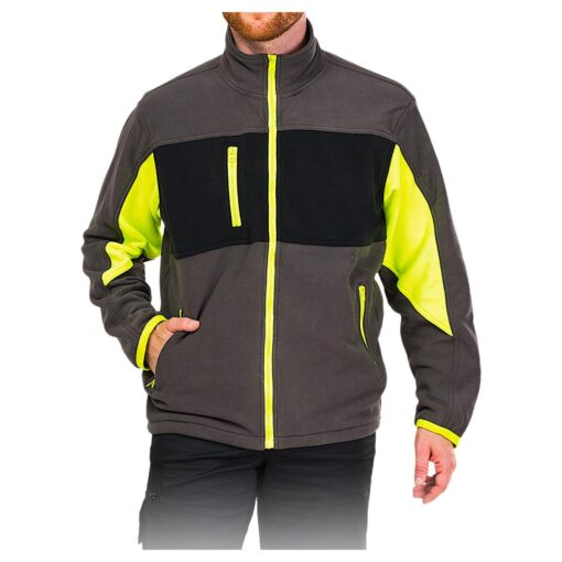 Куртка флісова LEBER & HOLLMAN LH-FMN-P DSBY