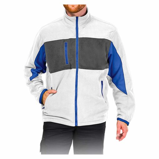 Куртка флисовая LEBER&HOLLMAN LH-FMN-P WSN