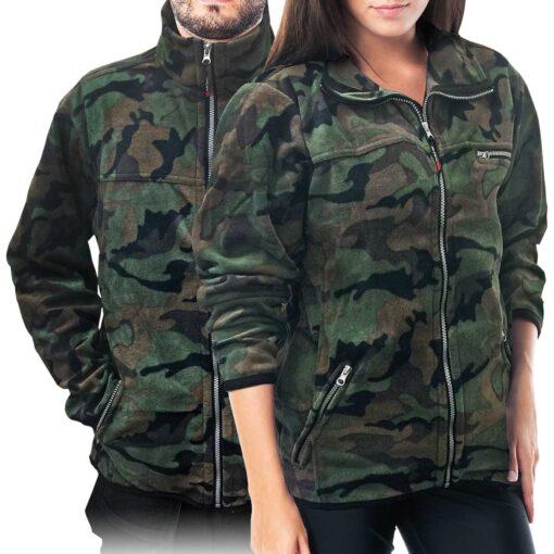 Куртка флисовая REIS POLAR-HONEY MO