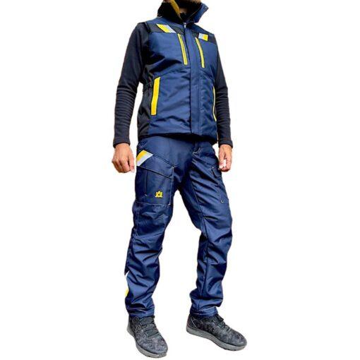 Костюм робочий утеплений | жилет і штани | AURUM EVEREST-VT DBBY